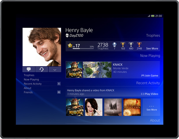 Sony Playstation 4 User Interface Ps4 1 Playstation 4 Popular Home