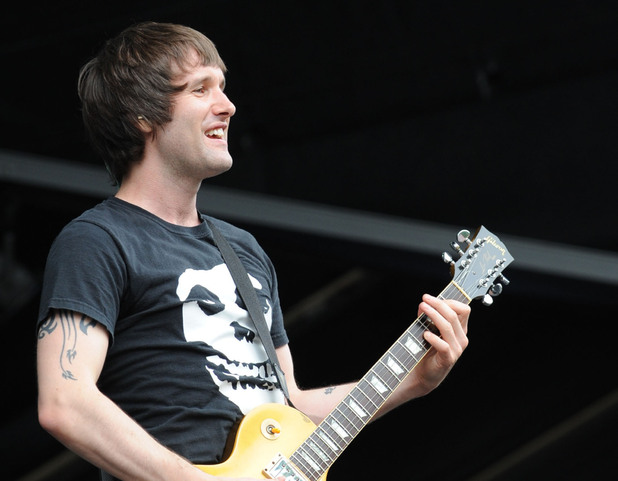 Ash's Tim Wheeler performing at the 2010 Fuji Rock Festival in Japan