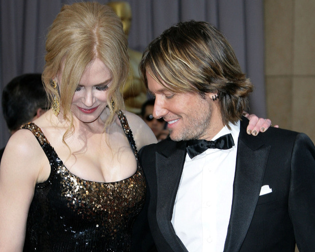 The 85th Annual Oscars at Hollywood & Highland Center - Red Carpet ArrivalsFeaturing: Nicole Kidman,Keith Urban Where: Los Angeles, California, United States When: 24 Feb 2013 Credit: Adriana M. Barraza/WENN.com
