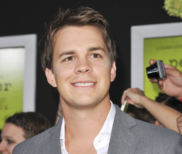 Johnny Simmons - 'The Perks of Being a Wallflower' LA premiere - September 10, 2012