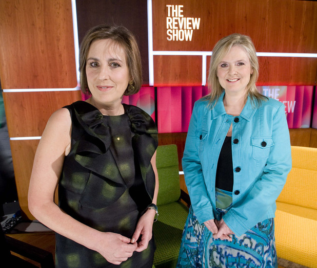 The Review Show presenters Kirsty Wark and Martha Kearney