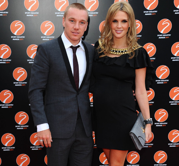 Danielle Lloyd and Jamie O'Hara.