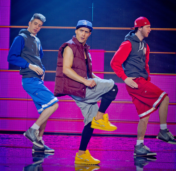 Lee Nelson and Twist & Pulse in Let's Dance for Comic Relief