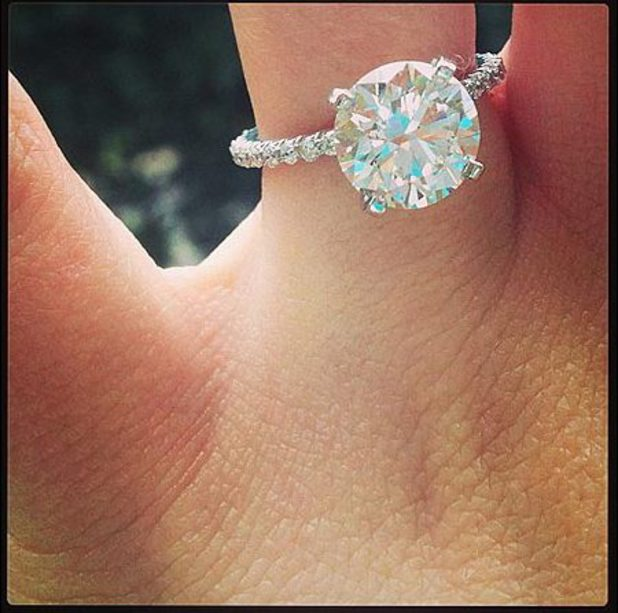 Jamie Lynn Spears's engagement ring.