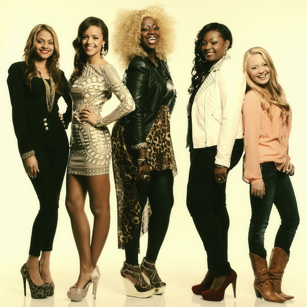 Breanna, Aubrey, Zoanette, Candice and Janelle