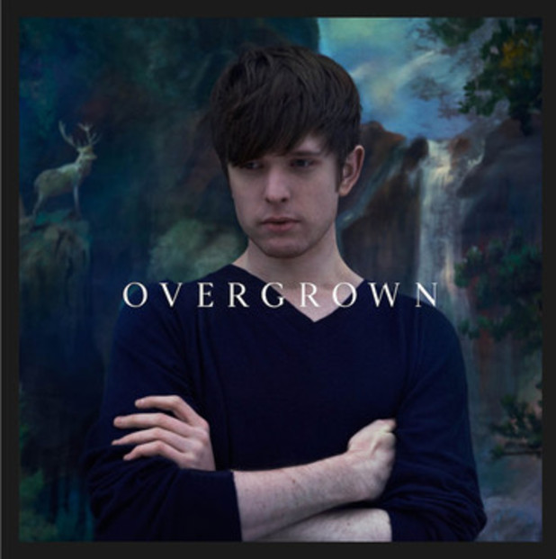 James Blake - Overgrown album cover.