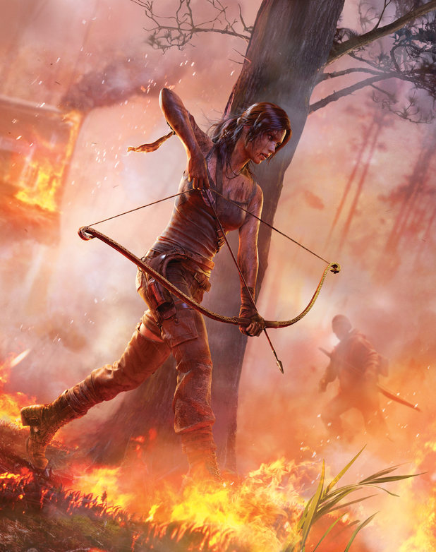 Tomb Raider concept art - E3 2012