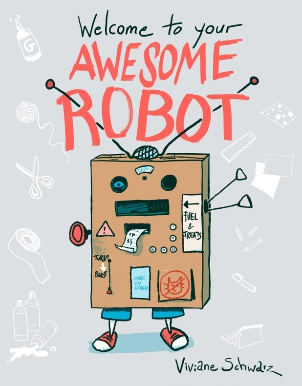 'Welcome to your Awesome Robot' cover artwork