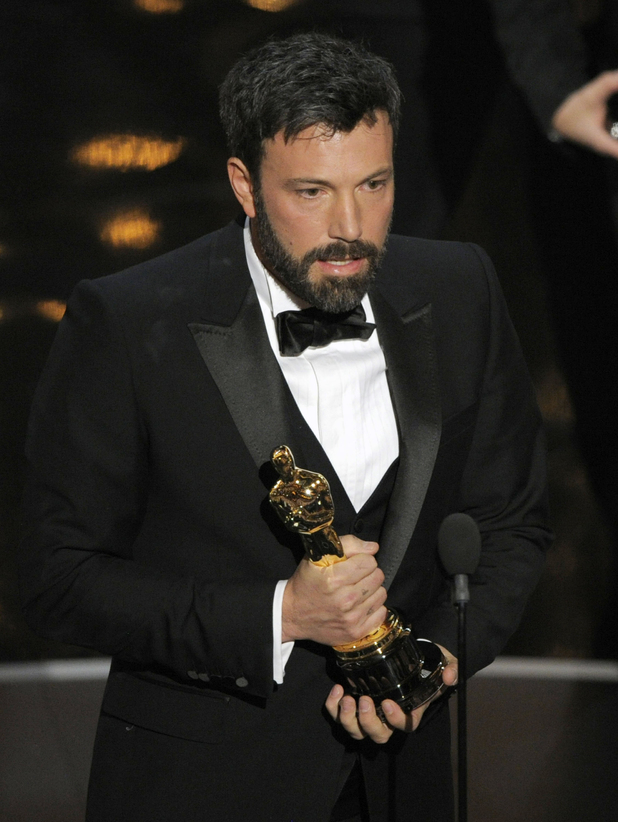 Ben Affleck with the 'Best Picture' Oscar