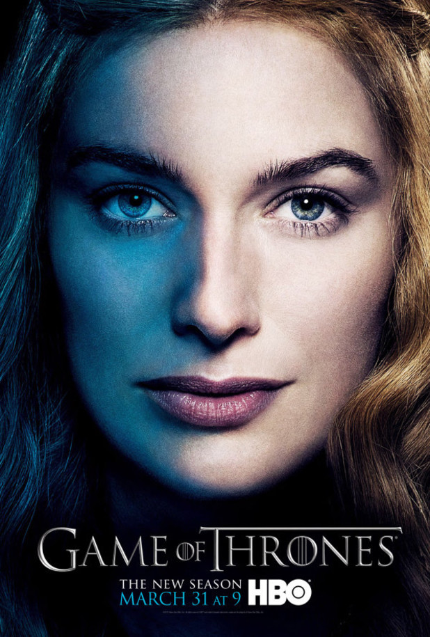 Game of Thrones - season 3 poster: Cersei Lannister