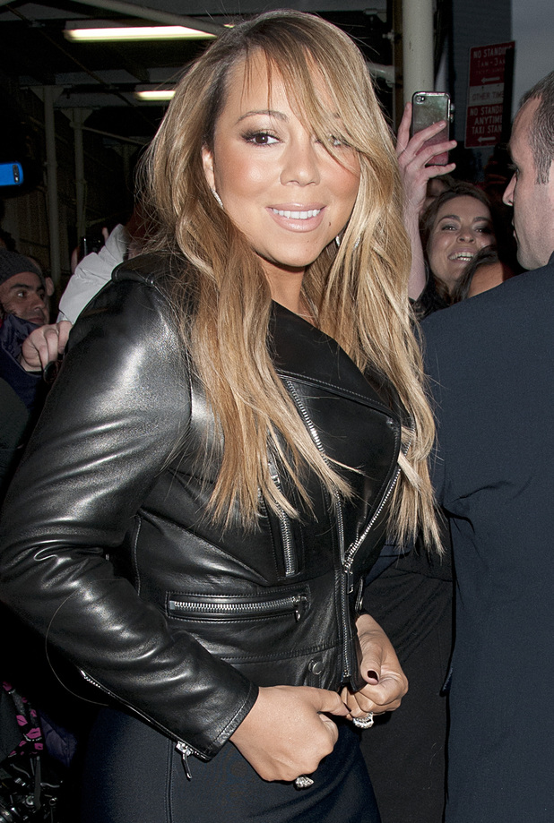Mariah Carey in New York ready to appear on Late Night with Jimmy ...: www.digitalspy.co.uk/showbiz/i543114-9/celebrity-pictures-020313...