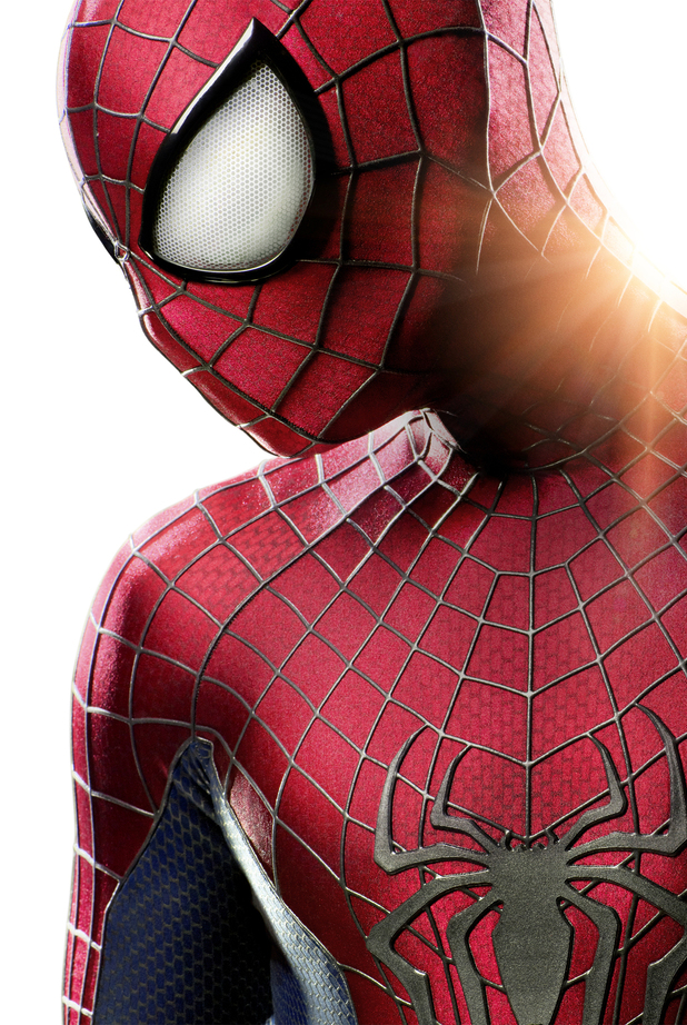 First look at Andrew Garfield's costume in 'The Amazing Spider-Man 2'