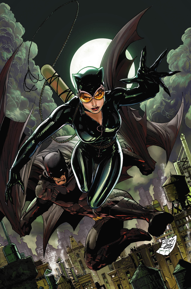 Tony Daniel's cover for 'Catwoman #18'