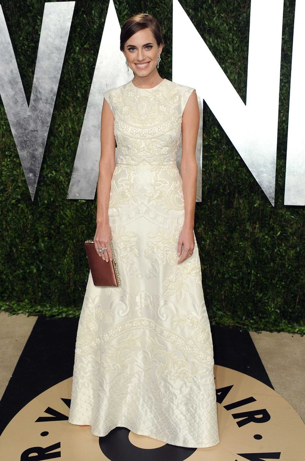 Allison Willams, Vanity Fair Oscars party 2013