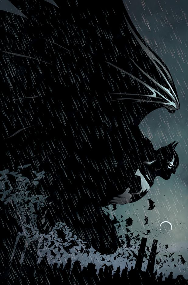 Patrick Gleason's cover for 'Batman & Robin #18'