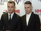 2013 NME Awards: Hurts