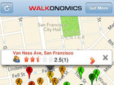 &#39;Walkonomics&#39; screenshot