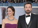 The Argo director says speech was a message of love to Jennifer Garner