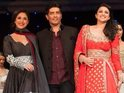 The actresses wore the designs of Manish Malhotra.