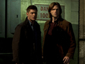 Jared Padalecki, Jensen Ackles and Misha Collins preview season 9 in San Diego.