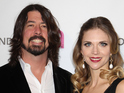 Foo Fighters frontman welcomes baby daughter with wife Jordyn Blum.