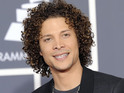 "Justin Guarini describes his newborn son Asher as ""7lbs 8oz of bliss""."