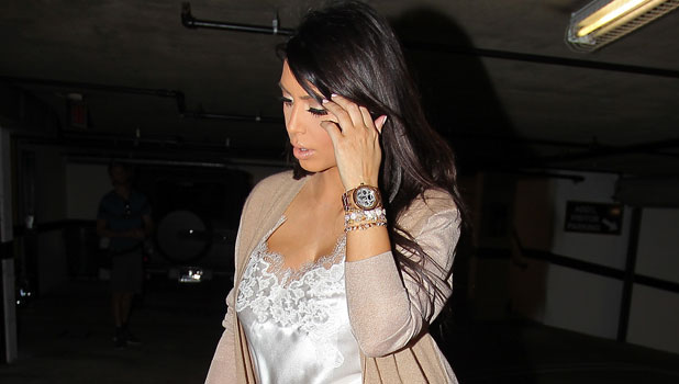 Kim Kardashian in Los Angeles on 28 Feb 2013