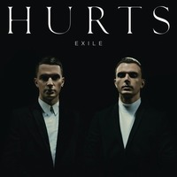 Hurts 'Exile' album artwork.