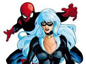Black Cat Spider-man