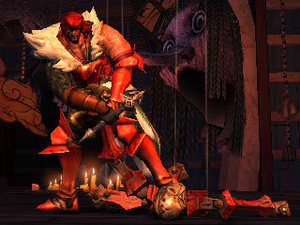 Gameplay screenshot of 'Castlevania: Lords Of Shadow - Mirror Of Fate'