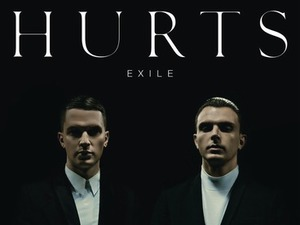 Hurts &#39;Exile&#39; album artwork.