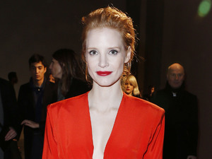Jessica Chastain, Paris Fashion Week 2013
