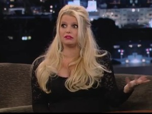 Jessica Simpson on 'Jimmy Kimmel Live'