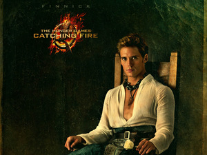 &#39;Hunger Games: Catching Fire&#39; Capitol Portraits - Sam Claflin as Finnick Odair