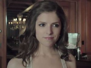 Anna Kendrick in &#39;Rapturepalooza&#39; trailer still
