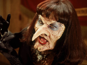 Anjelica Huston as the Grand High Witch in 'The Witches'