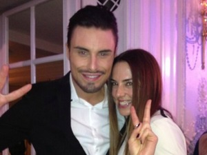 Rylan Clark and Melanie C at the Tesco mum of the year awards