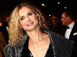 Maryam D'Abo arriving for the Royal World premiere of Skyfall at the Royal Albert Hall, London