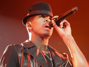 Ne-Yo performing on his R.E.D Tour at Liverpool Echo Arena