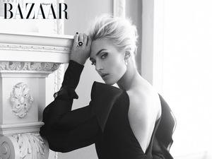 Kate Winsley poses for Harper's Bazaar April Issue