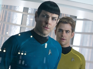 Chris Pine, Zachary Quinto, Star Trek Into Darkness
