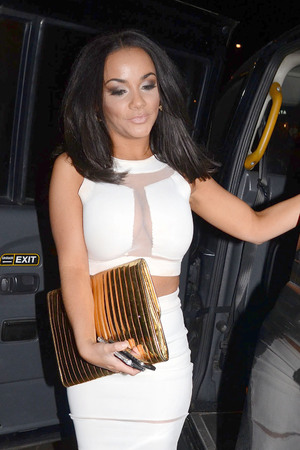 Chelsee Healey, sheer dress
