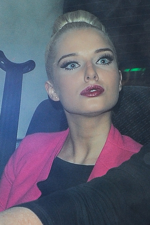 Helen Flanagan, pout, Now magazine party