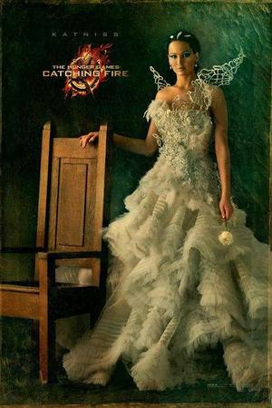 'Hunger Games: Catching Fire' Capitol portrait: Jennifer Lawrence as Katniss