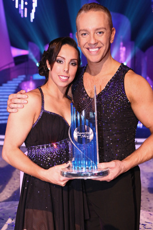 Beth Tweddle and Daniel Whiston are crowned winners.