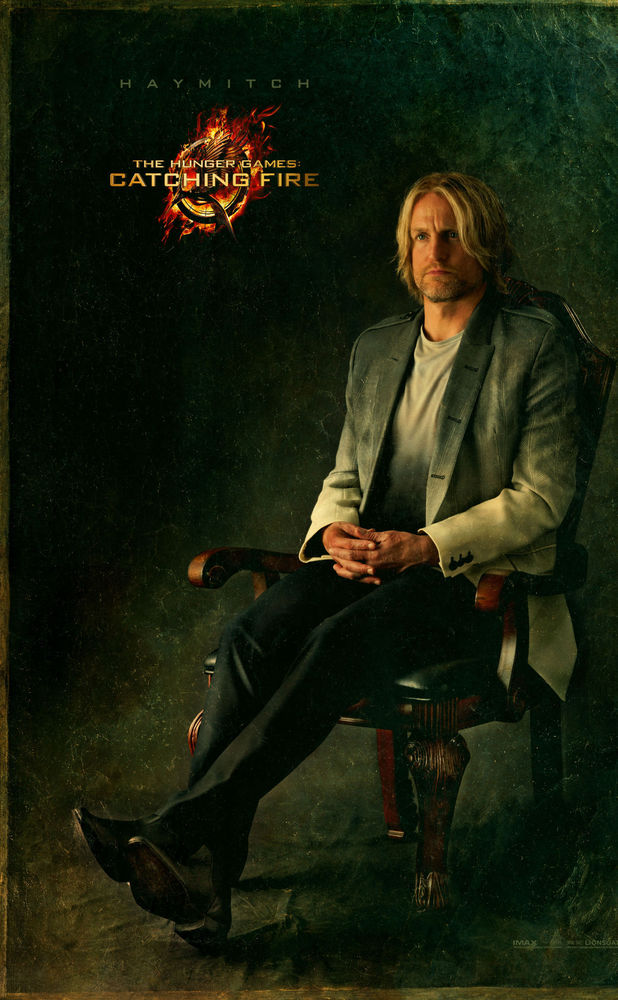 Hunger Games: Catching Fire' new poster: Woody Harrelson as ...