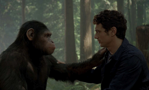 James Franco in 'Rise of the Planet of the Apes'