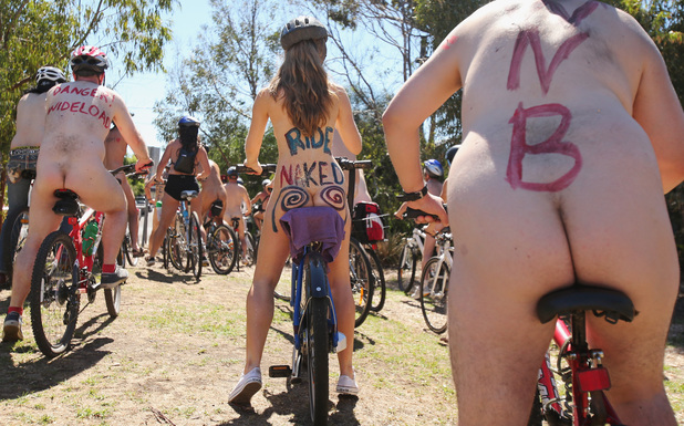 World Naked Bike Ride Day, Melbourne