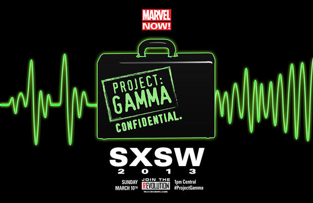 Marvel Comic's 'Project Gamma' teaser