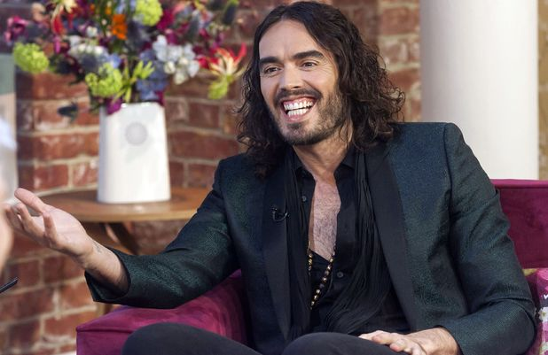 Russell Brand appears on &#39;This Morning&#39;